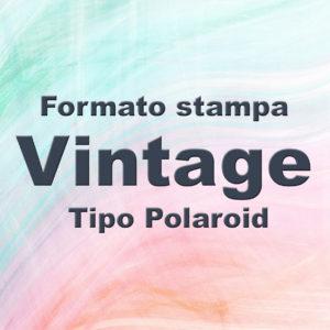 Stampe stile Vintage Polaroid